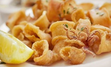 Catch-of-the-Day Meals or Seafood for Two or Four at George's Fish Bucket (Up to 56% Off)