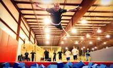 Two Hours of Jump Time for Two or Four at Aerosports Trampoline Park (Up to 51% Off)