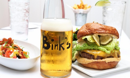 $30 for $50 Worth of Food and Drink for Dinner at Bink's Kitchen + Bar Scottsdale