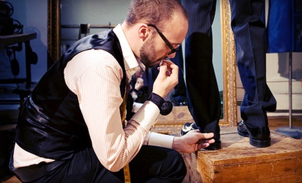 Custom-Tailored Menswear Packages from Aspetto (Up to 55% Off). Four Options Available.