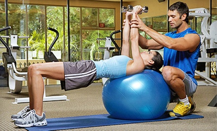 $72 for Five Personal-Training Sessions at Slo*Fit Fitness ($160 Value)