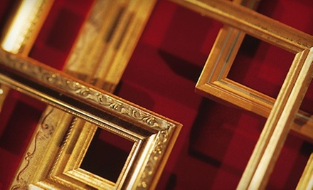 $45 for $100 Worth of Custom Framing at Alltmont's Fine Custom Framing