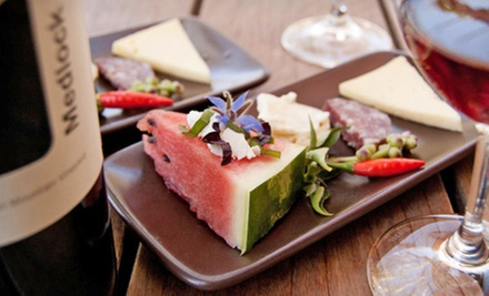 $20 for a Wine Flight and Food Pairing for Two at Medlock Ames ($80 Value)
