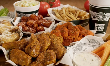 $13 for Two Groupons, Each Good for $10 Worth of Chicken Wings at Wingstop ($20 Total Value)