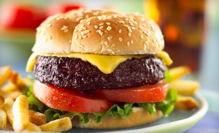 $9 for $18 Worth of Burgers and Fries at Big Moe&#x27;s Burgers