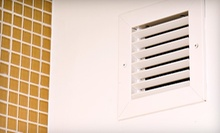 Air-Duct Cleaning with a Furnace Inspection and Optional Dryer-Vent Cleaning from C & H Services (Up to 84% Off)