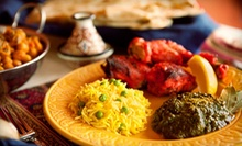 $10 for $20 Worth of Indian Cuisine at Maurya Bistro Indian Cuisine