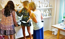 Regular or VIP Showroom-Shopping Tour from Style Room Shopping Tour Experiences (Up to 51% Off). 3 Options Available. 