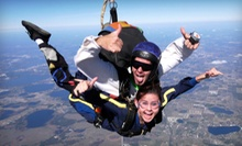 $130 for a Tandem Skydive from 14,000 Feet with a T-shirt from Florida Skydiving Center (Up to $219 Value)