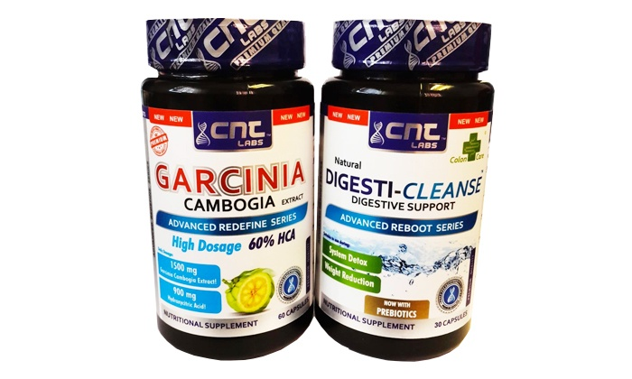 Groupon Goods: Garcinia Cambogia and Digesti-Cleanse Capsules from R129.99 Including Delivery (Up to 44% Off)