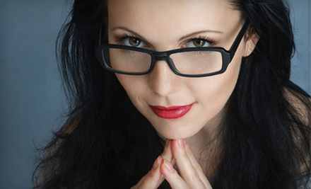 Eye Exam and Two Pairs of Glasses, or $50 for $225 Toward Prescription Glasses at Eye Doctor&#x27;s Optical Outlets