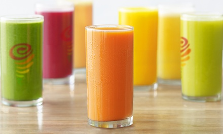 $60 for 30 Groupons, Each Good for a Daily Freshly-Squeezed Juice, at Jamba Juice ($149.70 Value)