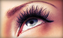 $29 for a Full Set of Eyelash Extensions with a Brow Tint or Wax at Merle Norman Luxe Spa &amp; Salon (Up to $75 Value)