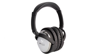 Able Planet True Fidelity Active Noise-canceling Around-the-ear Headphones With Inline Mic And Music Controls