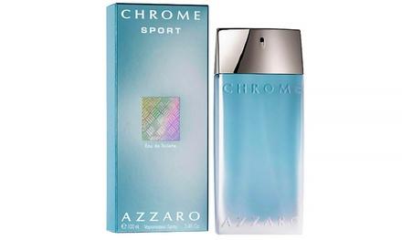 Azzaro Chrome Sport Eau de Toilette for Men; 3.4 Fl. Oz.