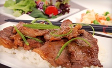 Mongolian Barbecue for Two or Four at The Mongolie Grill (Half Off)