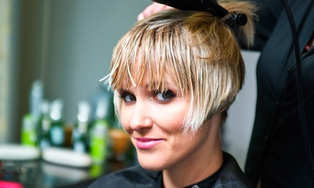 Haircut and Condition with Optional Partial and Accent Highlights or Full Highlights at Coiffure Salon (55% Off)