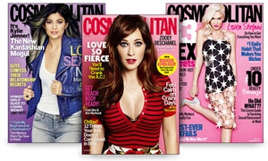 $5 For One-year Cosmopolitan Subscription From Hearst Magazines ($15 Value)