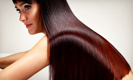 Hair Services at Air Salon &amp; Spa (Up to 62% Off). Three Options Available.