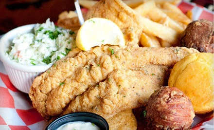 $48 for a Southern-Style Prix Fixe Meal and Live Music for Two at B.B. King&#x27;s Blues Club (Up to $101 Value)