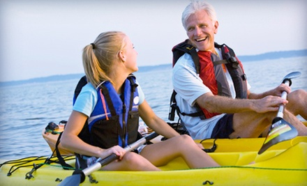 $29 for a Three-Hour Kayak Lesson from Oklahoma City Kayak ($65 Value)