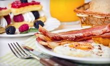 Breakfast and Lunch Food at Sunnys Cafe (Half Off). Two Options Available. 