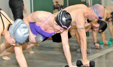 Five or 10 Drop-In Cross-Training Swim Classes at Combat Swim (Up to 63% Off)