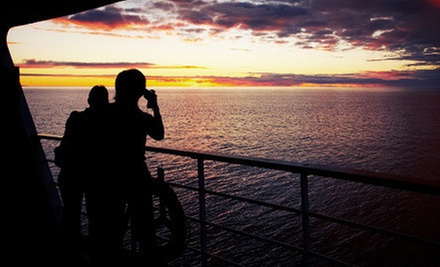 $175 for a Two-Hour Sunset Cruise for Four with a Boarding Gift from Carefree Boat Club ($350 Value)