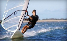 Standup-Paddleboard Lesson or Windsurfing Lesson from Windsure Adventure Watersports (Up to 57% Off)