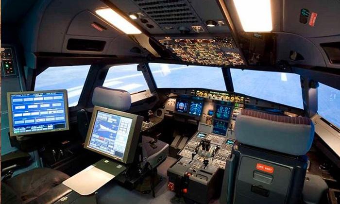 A320 FTC - A320 FTC: 2 ore di volo estremo su simulatore professionale Airbus A320 da 39,90 €