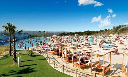 Live Beach — Praia de Mangualde: 1 ou 2 noites para dois com pequeno-almoço e bilhetes para a praia artificial desde 44€