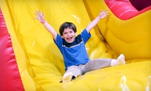 Three Open-Jump Visits or a Birthday Party for Up to Eight with a Party Room and Pizza at Jump Parties (Up to 54% Off)