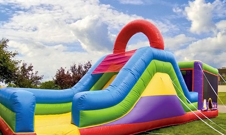 All-Day Rental of a Bounce House, Inflatable Slide, or Water Slide from Phat Bubbles (Up to 53% Off)