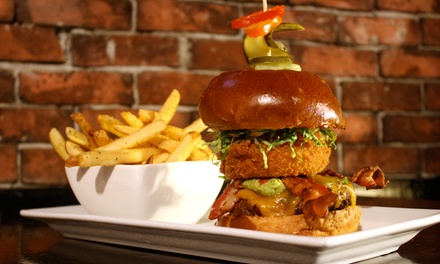 $19 for $30 Worth of Gourmet Pub Food at Displace Hashery
