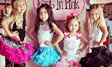 Children's Birthday Party for Eight Kids at Pout in Pink (Up to 58% Off). Three Options Available.