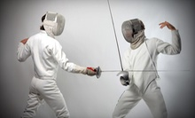 Four or Eight Fencing Classes for Kids or Adults at Peninsula Fencing Academy (51% Off)