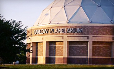 Show for Two or Four at Barlow Planetarium (Up to Half Off)