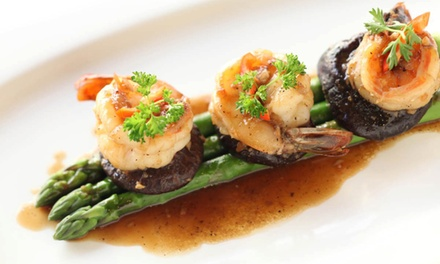 Organic Thai Cuisine at Siam Orchid Organic Fine Dining (Up to 51% Off). Three Options Available.