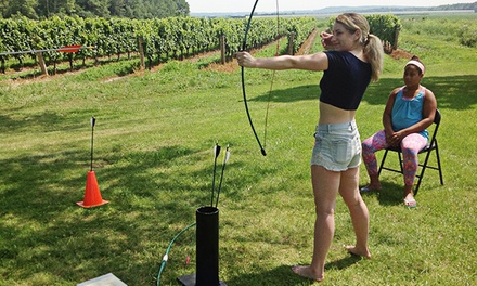 One-Hour Private Archery Lesson for Two or Four at Barefoot Bushcraft (Up to 54% Off)
