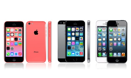 Apple iPhone 4, 4S, 5, 5S, or 5C (GSM Unlocked) (Refurbished)