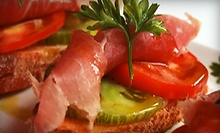 Appetizers, Salads, or Desserts for Two, or $10 for $20 Worth of Italian Cuisine at Trattoria on Pearl (Up to 51% Off)
