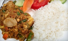 $35 for Indian Dinner for Two with Wine at Neha Palace (Up to $79.75 Value)
