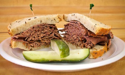 Lunch or Dinner for Two for Dine-In or Carryout from Label's Table Deli (Up to 50% Off)