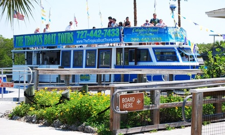 $29 for a Honeymoon & Caladesi Island Tour for Two from The Tropics Boat Tours ($56 Value)