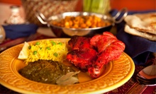 Indian Food at Thali (Half Off). Two Options Available.