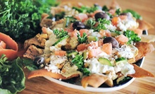 Mediterranean Food for Lunch or Dinner or Appetizer Platter for 10 at FreshMed Mediterranean Cuisine (Up to 51% Off)