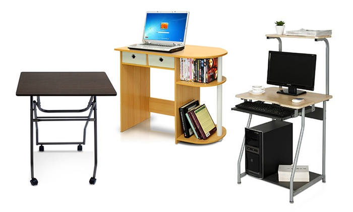 Furinno Computer Desks And Tv Trays Groupon