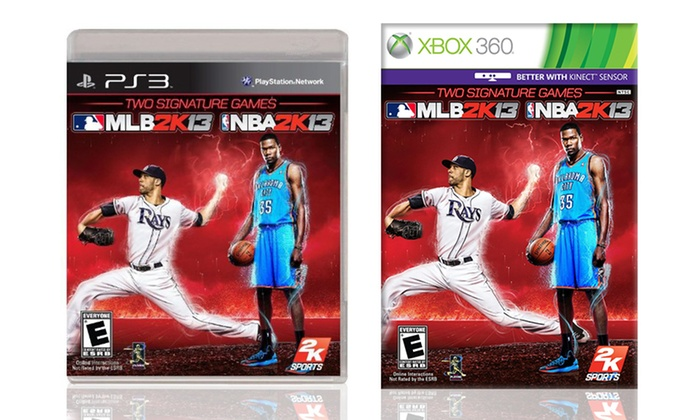 2k sports 39 nba 2k13 and mlb 2k13 for xbox 360 or ps3 groupon for 360 salon fremont