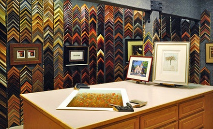 Custom Framing at Studio Seven Arts (Up to 67% Off). Two Options Available.