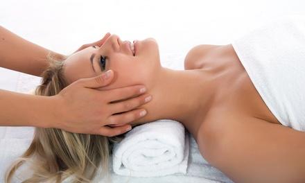 Massage with Mask and Optional Eye Treatment or Microdermabrasion at Yin's Beauty & Spa Inc (Up to 73% Off)